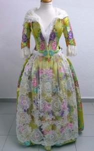 Vestido fallera tradicional