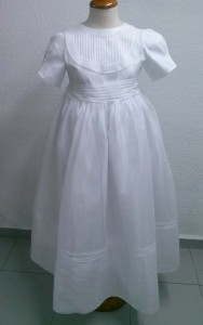 lavar vestidos de comunion
