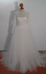 vestido de novia 4 despues
