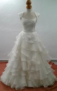 vestido de novia 8 despues
