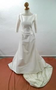 vestido de novia 9 despues
