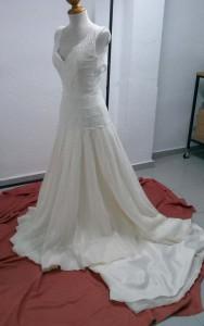 vestido de novia tintoreria