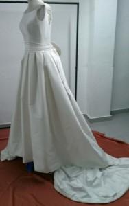 vestido novia tintoreria